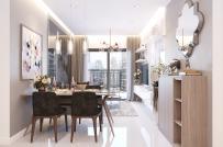 Thiết kế nội thất căn hộ nhỏ dành cho gia đình 4 thành viên