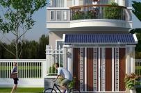 Tư vấn thiết kế nhà ống 2 tầng 3 phòng ngủ trên diện tích 100m2