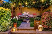 6 ý tưởng trang trí sân vườn ngày Tết