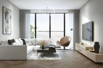 Cải tạo nội thất căn hộ 56m2 thoáng đẹp dành cho gia đình trẻ
