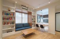 Sau cải tạo, căn hộ tập thể 70m2 ở Hà Nội thoáng đẹp như mơ