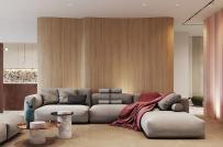 Vẻ đẹp ngọt ngào của căn hộ phong cách Restro hiện đại