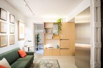 Học cách bài trí nội thất cực chuẩn trong căn hộ 45m2