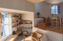 16 cao độ sàn khác nhau trong ngôi nhà Nhật