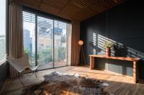 Không gian sống thoáng đẹp trong nhà thép tiền chế ở Hà Nội