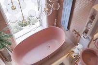 10 tông màu khiến phòng tắm của bạn trở nên đặc biệt hơn
