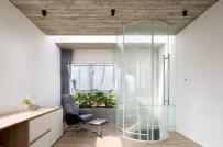 Ngôi nhà ở Bình Dương với hai lớp tường gạch đóng - mở độc đáo