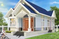 Kiến trúc sư tư vấn thiết kế nhà cấp 4 mái Thái tiện nghi, hợp phong thủy