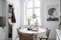 Ngắm mãi không chán bộ sưu tập phòng ăn nhỏ phong cách Scandinavian