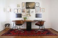Loạt văn phòng tại nhà giúp vợ chồng thoải mái làm việc thời dịch Covid-19