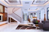 Mẫu thiết kế nội thất biệt thự 3 tầng sang trọng, hút mọi ánh nhìn