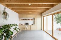 Nội thất Nhật - tối giản kết hợp hài hòa trong nhà 2 tầng ở Tây Ban Nha