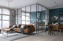 Thêm một căn hộ 45m2 với thiết kế nội thất đáng để bạn học hỏi