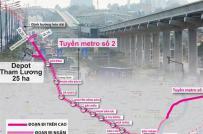 TP.HCM: Xin chủ trương bố trí vốn giải phóng mặt bằng tuyến metro 2