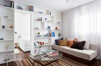 Mẫu thiết kế nội thất căn hộ 30m2 dành cho người trẻ độc thân