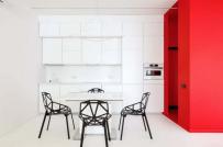 Căn hộ tối giản đầy màu sắc lấy cảm hứng từ Mondrian