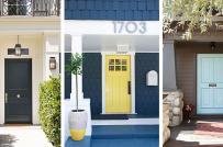 Thay áo mới cho cửa trước nhà bạn với những màu sơn này