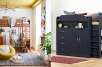 Mẫu giường gác xép siêu tiện ích dành cho nhà nhỏ