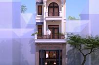 Tư vấn thiết kế nhà lô 4 tầng kết hợp kinh doanh trên diện tích 5x16m