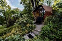 Bộ ba nhà cabin siêu ấn tượng nhưng cũng rất gần gũi