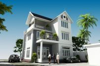 Mẫu biệt thự 2,5 tầng phong cách hiện đại cho gia đình 3 thế hệ