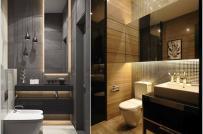 Phòng tắm nhỏ cực cuốn hút bất chấp sự hạn chế về diện tích