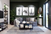 Căn hộ 30m2 cho thuê với thiết kế nội thất cực chất
