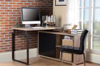 Phòng làm việc tại nhà độc đáo, phong cách hơn với bàn góc