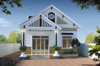 Kiến trúc sư tư vấn thiết kế nhà cấp 4 mái Thái đẹp mê với kinh phí 350 triệu đồng