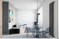 Thiết kế nội thất chất lừ trong căn hộ 50m2