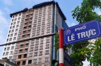 Hà Nội cho phép giữ lại một số hạng mục tại tòa nhà 8B Lê Trực