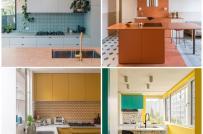 10 thiết kế phòng bếp với bảng màu được phối kết tuyệt đẹp