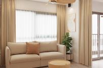Biến căn hộ 60m2 thành không gian sống chất ngất