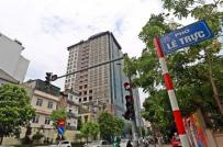 Tòa nhà 8B Lê Trực sẽ được hoàn thiện, bàn giao cho khách hàng