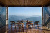 Khách sạn độc đáo trên dãy Himalaya với tre bao phủ mặt ngoài