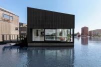 Ngôi nhà nổi độc đáo dành cho vùng sông nước, lũ lụt