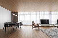 Cải tạo căn hộ cân bằng giữa ồn ào và yên tĩnh