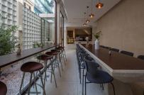 Độc đáo ngôi nhà phố kết hợp quán cà phê Danshari