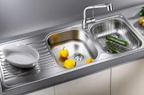 Bồn rửa chén: Nên chọn loại nào, chất liệu ra sao cho bền đẹp?