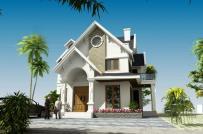 Thiết kế biệt thự 2 tầng mái Thái đảm bảo công năng, hợp phong thủy