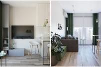 Nội thất căn hộ 39m2 tối ưu hóa không gian sử dụng