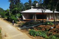 Ngôi nhà ở vùng núi Thanh Hóa với hiên rộng thênh thang và lỗ