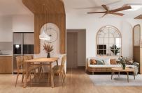 Mê mẩn thiết kế nội thất căn hộ 73m2 phong cách hiện đại