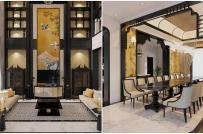 Choáng ngợp căn biệt thự phong cách Luxury Indochine