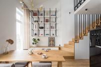 Thiết kế nội thất thông minh trong căn hộ 52m2