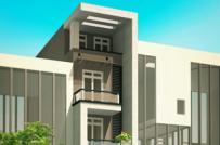Xây nhà phố 5 tầng vừa ở vừa kinh doanh