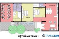 Thiết kế nhà ở gia đình kết hợp kinh doanh nhà nghỉ