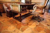 Sàn gỗ phong cách cho nhà đón tết