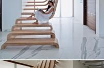 """""""Mãn nhãn"""" với những mẫu cầu thang siêu đẹp"""