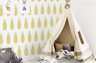 Những mẫu giấy dán tường cho phòng bé giúp khơi gợi tính sáng tạo